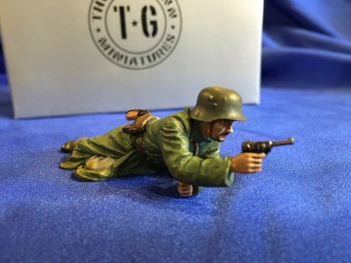 Toy soldiers by Thomas Gunn