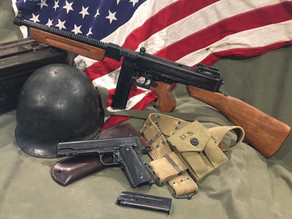 US Weapons of WW2 by Denix: Great replicas of some truly classic historic small arms.