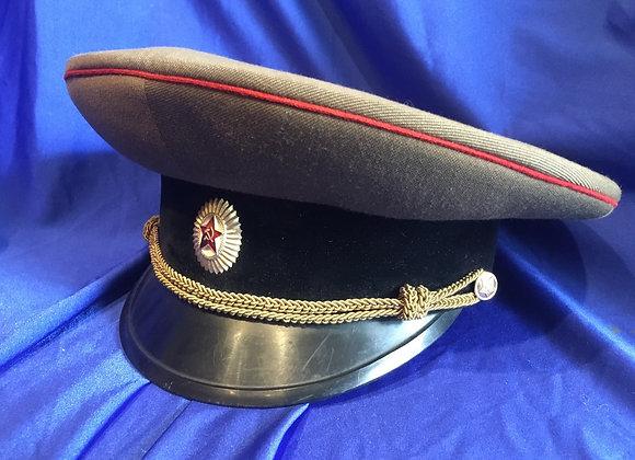 Soviet Army Officer visor cap