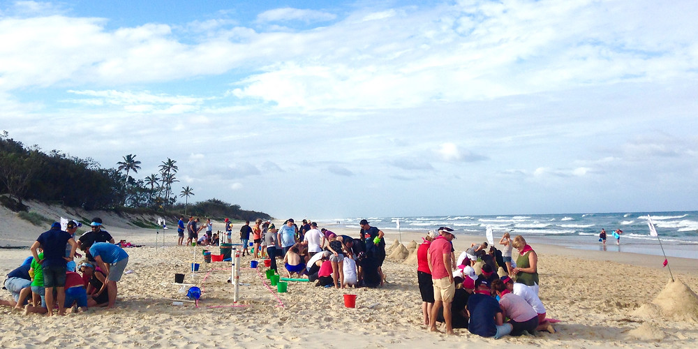 Over the years we have run many great team building events on Gold Coast beaches