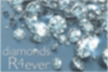 Logo for business game Diamonds R4 Ever