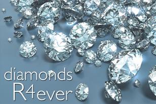 Logo for business game Diamonds R4 Ever