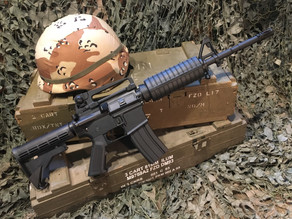 Fantastic metal M16A1 and M4A1 Replicas (they also happen to be Gel Blasters)