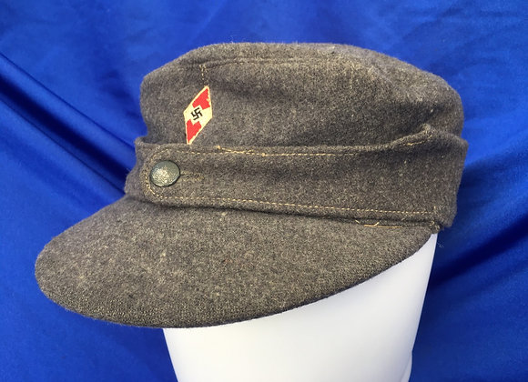 WW2 German Hitler Youth Flak Helper Cap (original)