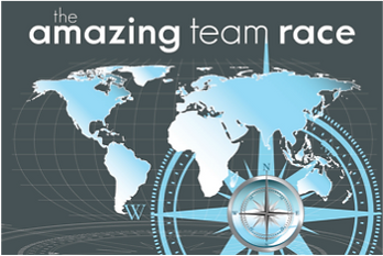 The Amazing Race tv shows provide great themes for some fun team building.