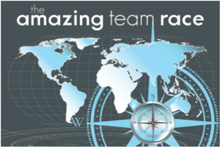 Logo for the Amazing Team Race