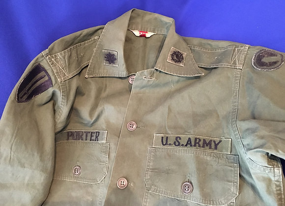 US Army Vietnam War LT Col USARV Shirt
