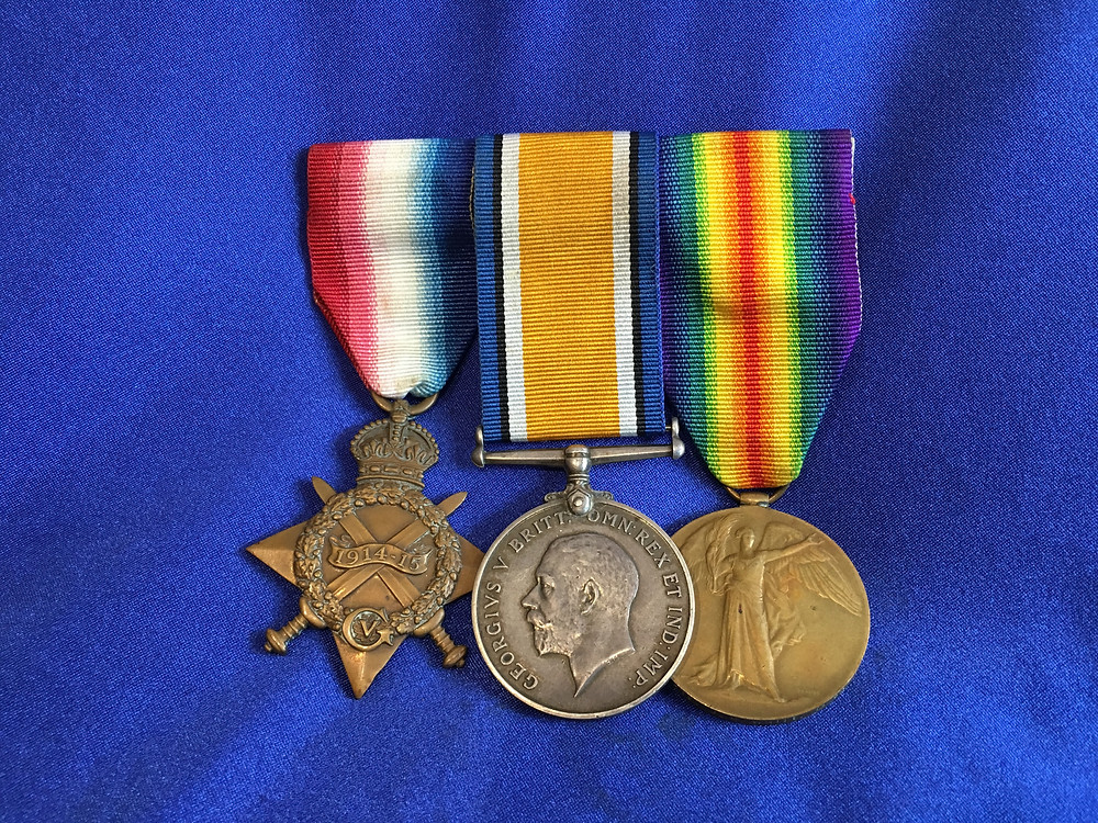 WW1 AIF Medal Sets for sale