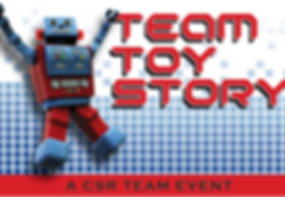 Team Building for Charity Toys for Kids