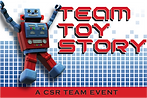 Team Toy Story for charity based team building