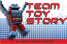 Team Toy Story by Sabre for indoor and outdoor team building