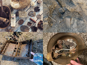 Digging for history: Battlefield relics that are ethically sourced.