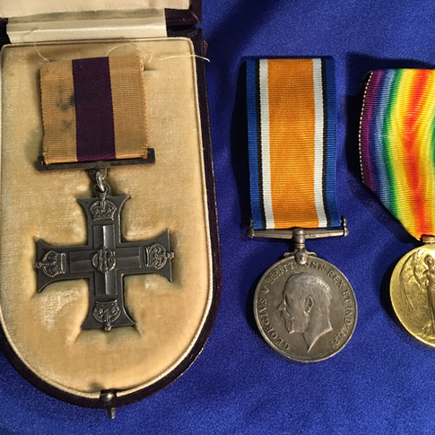 Militaria Rare WW1 Australian MC Group