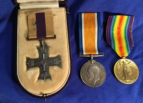 Military Cross Group 2LT Robert Trevor Williams AIF 3rd Pioneer BN