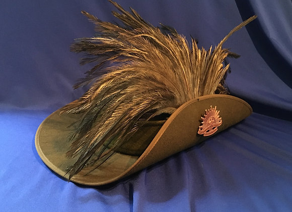 WW1 Australian Light Horse Slouch Hat made from recent issue hat