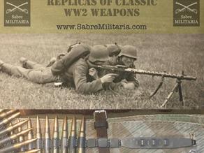 Replicas of classic WW2 weapons by Denix