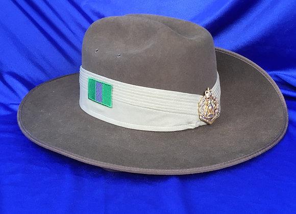 Australian Army Akubra Slouch Hat 8/9 RAR