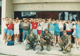 An old team building pic taken at the GCI with Sabre