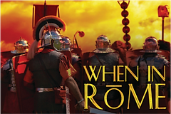 When in Rome is a great team building business game by Sabre for Rome and Italy