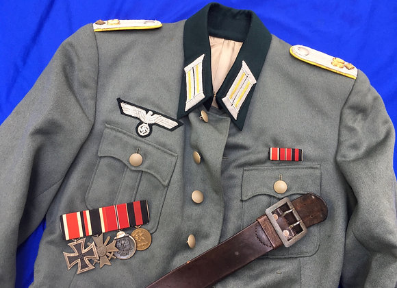 WW2 German Officer Tunic Grouping