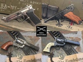Replica Pistols for collectors, re-enactors, museums and man caves