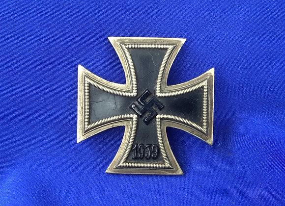 WW2 German EK 1 early war Meybauer unmarked (original)