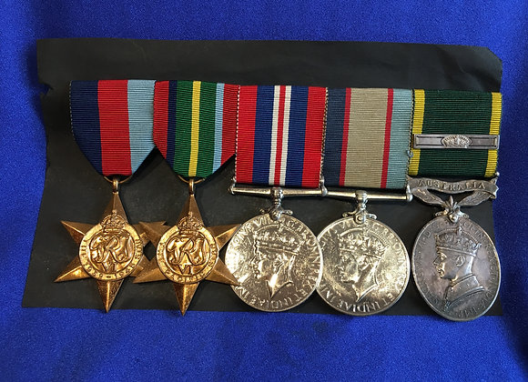 WW2 Medal group - Major N.M Walker VX108341