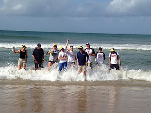 Sydney has some great beaches that can be used for team building events