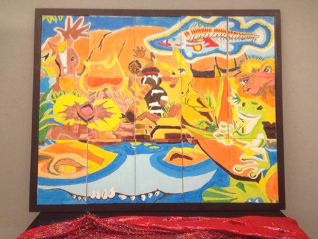 CSIRO have team building success with the Picture Perfect painting challenge.