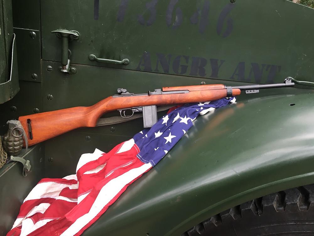 A quality full size replica of the WW2 M1 Carbine by Denix