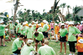 The Value of Team Building at Conferences