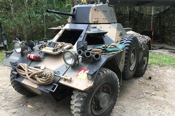 Military Vehicle hire by Sabre, Ferret MK2 Scout Car