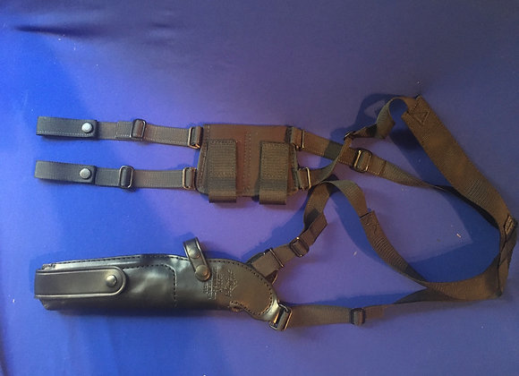 Australian Army Issue Hellweg Shoulder Holster for 9mm Browning