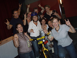 Team building for charity by building bikes for kids
