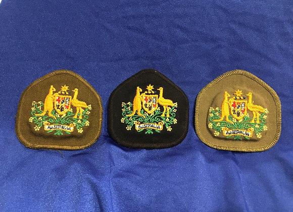 Australian Army WO1 Patches x 3