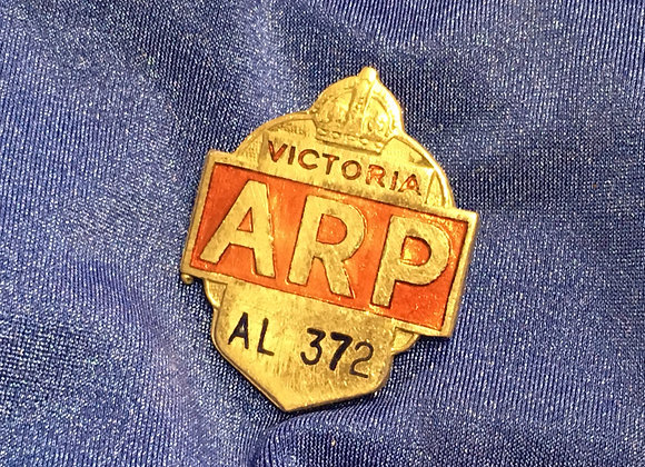 WW2 ARP Victoria Badge