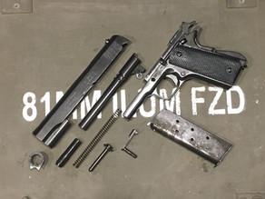 The Denix Strippable Colt .45 Government Auto Replicas