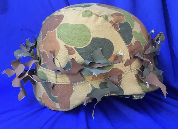 PASGT Helmet with Auscam / DCPU cover