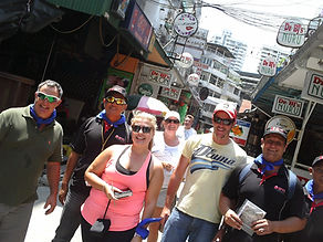 team building amazing race in bangkok for a sabre client