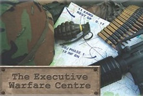 The Executive Warfare Centre is military themed leadership and team development by Sabre