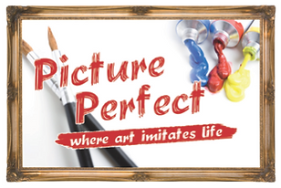 Logo for team building event Picture Perfect