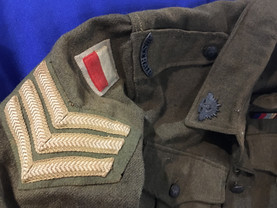 Military uniforms for sale by Sabre