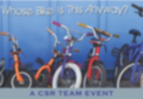 Team Building for Charity Bikes for Kids