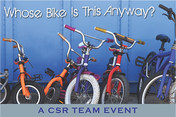 Whose bike is a great team building for charity option.