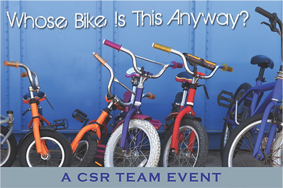 Charity Bike Build log for Sabre team building