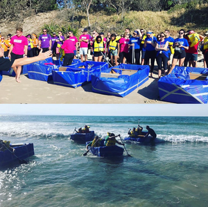 We recently had some fun with a tailored Amazing Race  and Kon Tiki combo in Byron