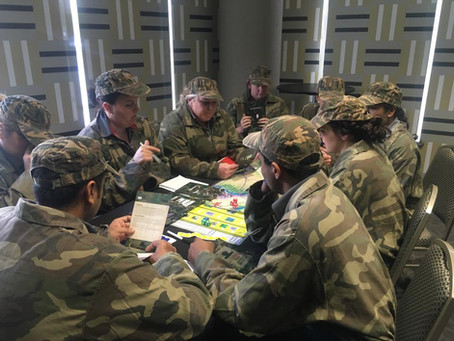 'Battlespace' the business game for Hungry Jack's leaders