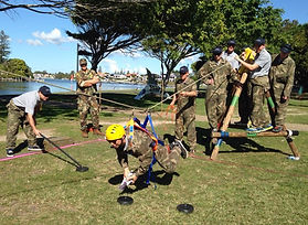 Team Building Australia with great outdoor activities by Sabre