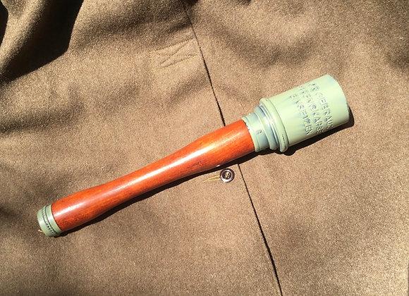 Replica German Stick Grenade / Potato Masher Grenade (green finish)