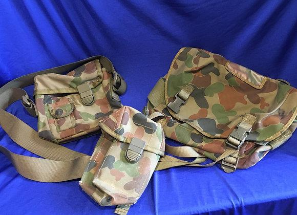 Australian Army Auscam Steyr Pouch, Bum Pack, Bottle Carrier